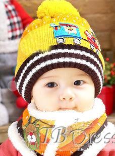 للاطفال2014.طاقية تريكو للشتاء 2014,ايس للبيبي