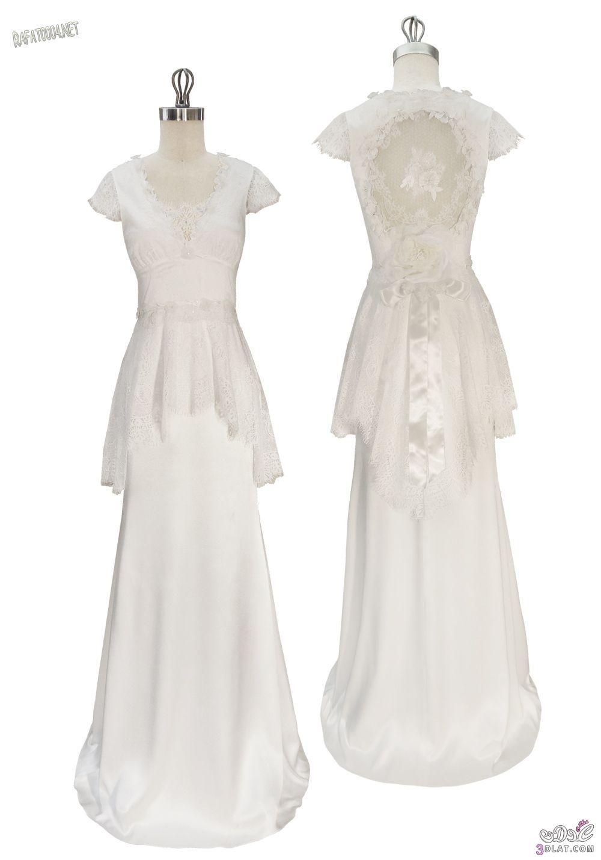 أرق موديلات فساتين الزفاف 2014 ،فساتين زفاف جميلة
