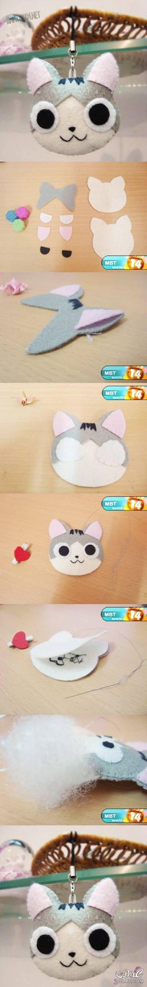 ����� ��� ����� ������ ��� ��� ��� kitten keychain 13892043451.jpg
