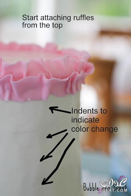 [بالصور] بالصور طريقة تزين تورتة