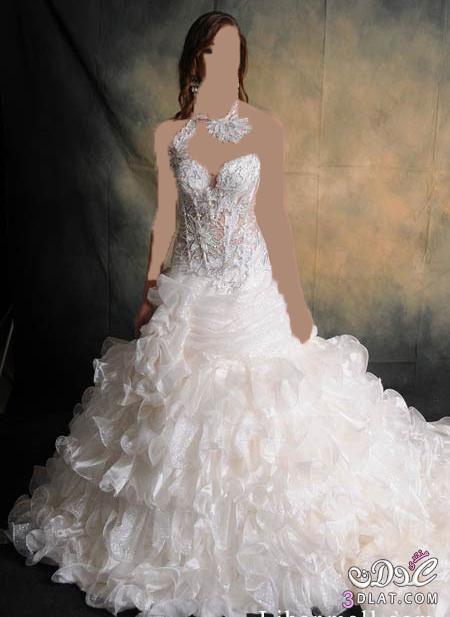 فساتين زفاف لبنانية