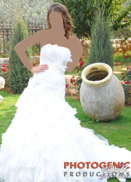 فساتين زفاف رقيقة و أنيقة