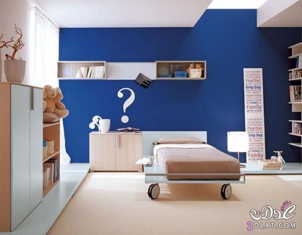 غرف نوم بسيطه غرف نوم 2018 غرف نوم باللون الازرق غرف نوم زرقاء غرف