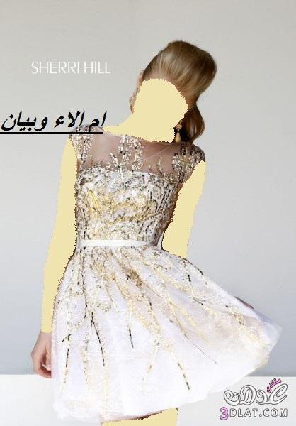 فساتين زفاف وخطوبة قصيرة من sherri hill ل2014, فساتين زفاف وخطوبة قصيرة ج 1