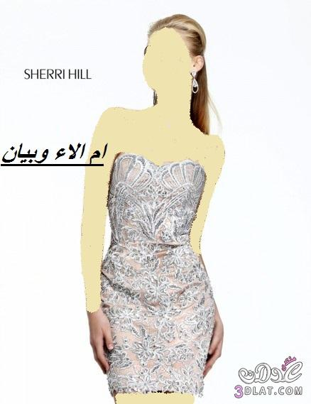 فساتين زفاف وخطوبة قصيرة من sherri hill ل2019, فساتين زفاف وخطوبة قصيرة ج 1