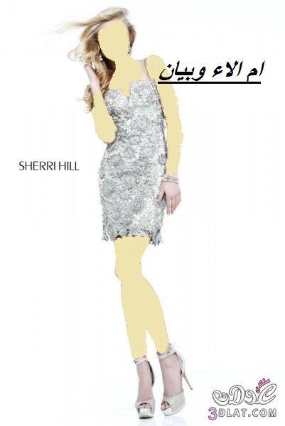 فساتين زفاف وخطوبة قصيرة من sherri hill ل2019, فساتين زفاف وخطوبة قصيرة ج 2