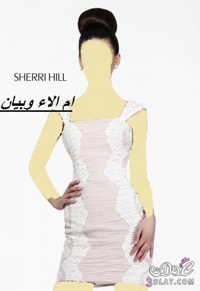 فساتين زفاف وخطوبة قصيرة من sherri hill ل2019, فساتين زفاف وخطوبة قصيرة ج 3