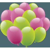 أروع سكرابز بالالين العيد بخلفيات شفافه. سكرابز بالونات للعيد بدون تحميل