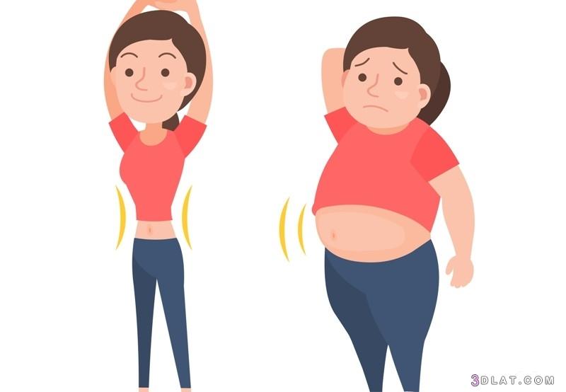 علاج تراكم الدهون وزيادة الكرش تعرّفي 3dlat.com_03_18_f095