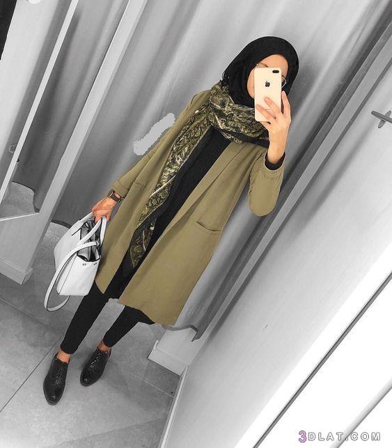 أزياء, شتوي, شتوية, لبس, محجبات, ملابس