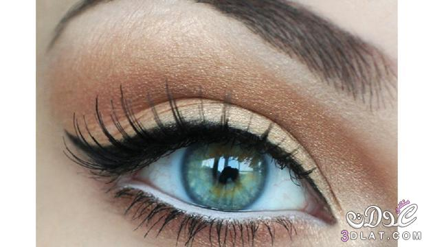 ... بالصور طريقة رسم العين لمكياج السهرات. مكياج عيون تحفة للسهرة 2018  بالصور img_1416962767_761.j