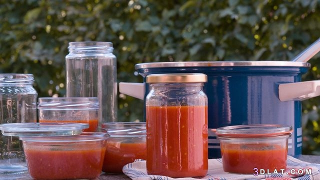 أطول, احفظ, الطماطم, حفظ, طريقه, لفتره, معجون