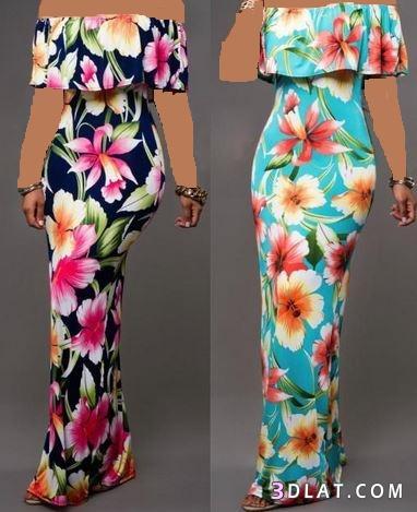 أجمل الفساتين لصيف 2019 فساتين صيفية 3dlat.com_07_18_b774