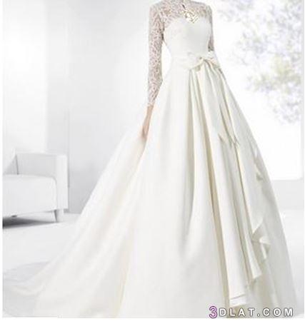 أجمل فساتين الزفاف 2019, أرقى فساتين 3dlat.com_08_18_c3f9