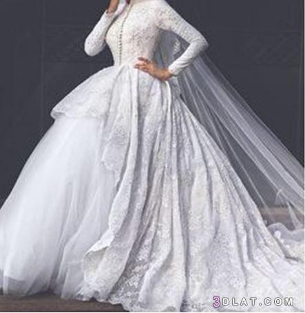 أجمل فساتين الزفاف 2019, أرقى فساتين 3dlat.com_08_18_d765
