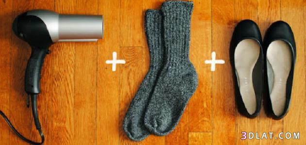 طريقة توسيع الحذاء الجديد,كيفية الحذاء مريح,طريقة 3dlat.com_09_18_138d