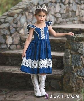 ملابس اطفال فساتين بنات 2019 كولكشن 3dlat.com_09_18_99c6
