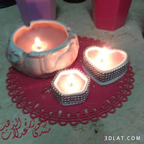 اعادة تدوير الشموع القديمة ..افكار سهلة 3dlat.com_09_18_d319