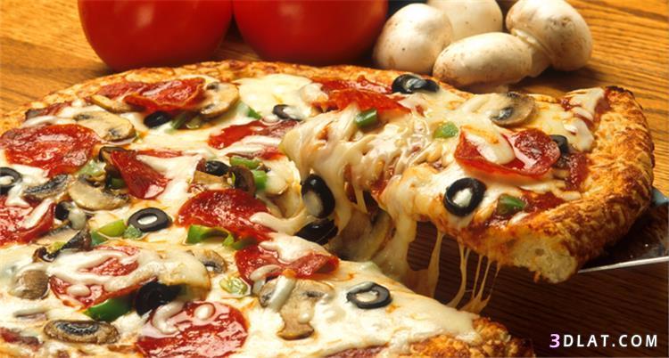مختلفة لتحضير عجينة البيتزا المحلات,عجينة البيتزا 3dlat.com_09_18_d9aa