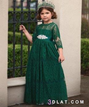 ملابس اطفال فساتين بنات 2019 كولكشن 3dlat.com_09_18_e1f3