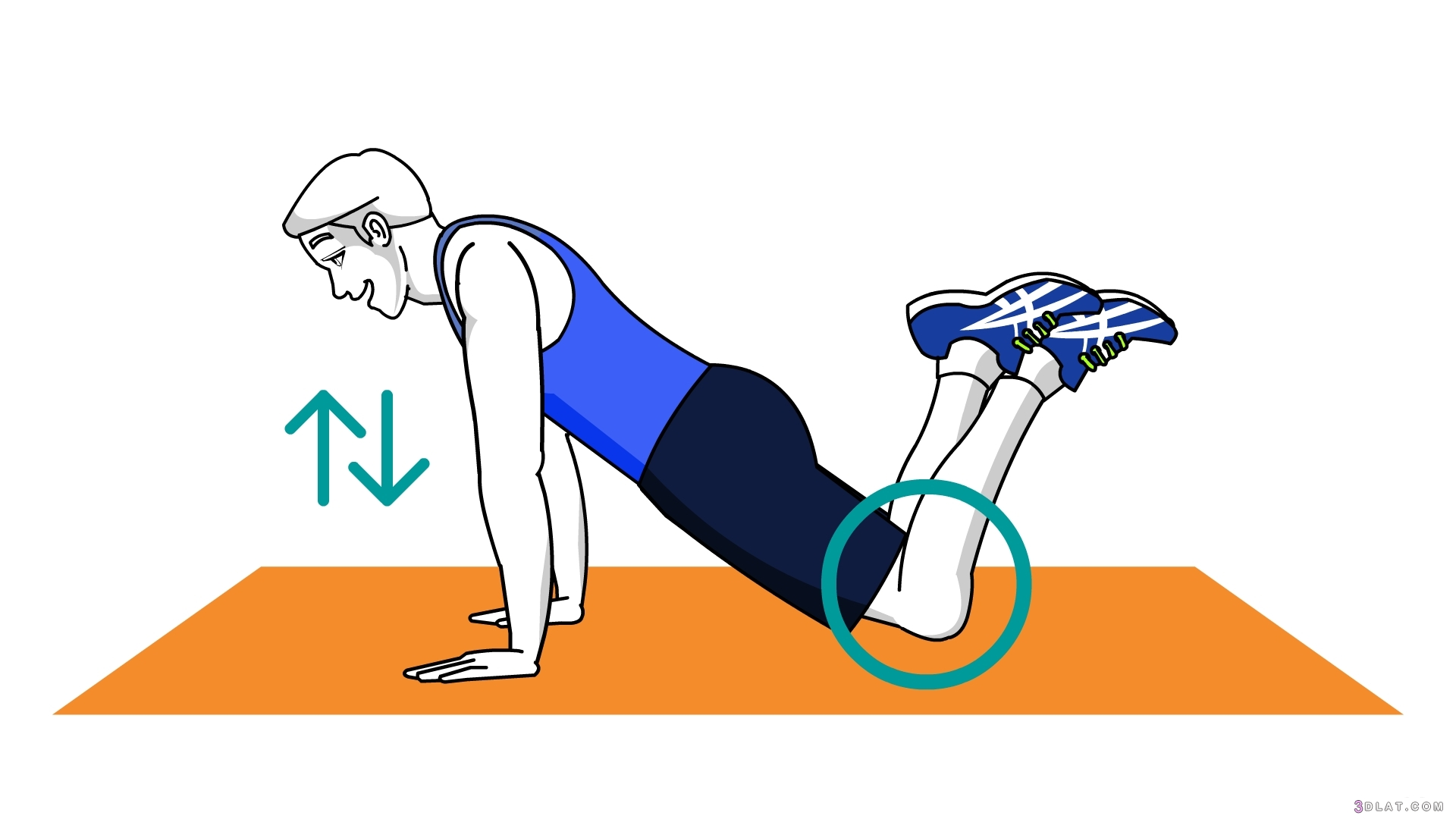 تمارين الضغط لحرق الدهون وبناء العضلات 3dlat.com_09_19_badd