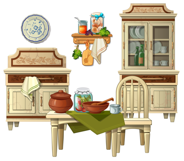 سكرابز ادوات مطبخيه