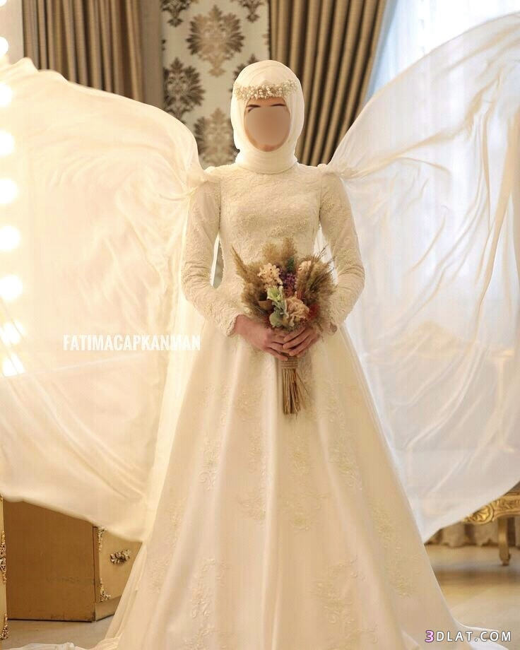 فساتين زفاف محجبات بسيطه ورقيقةجدا2019.اشيك موديلات 3dlat.com_11_18_6fc9