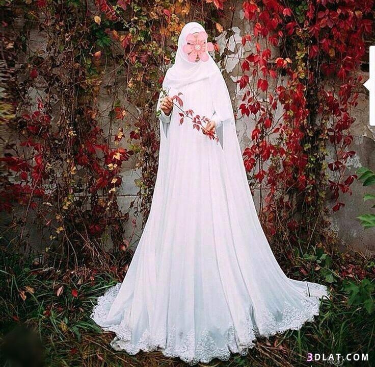 فساتين زفاف محجبات بسيطه ورقيقةجدا2019.اشيك موديلات 3dlat.com_11_18_8864