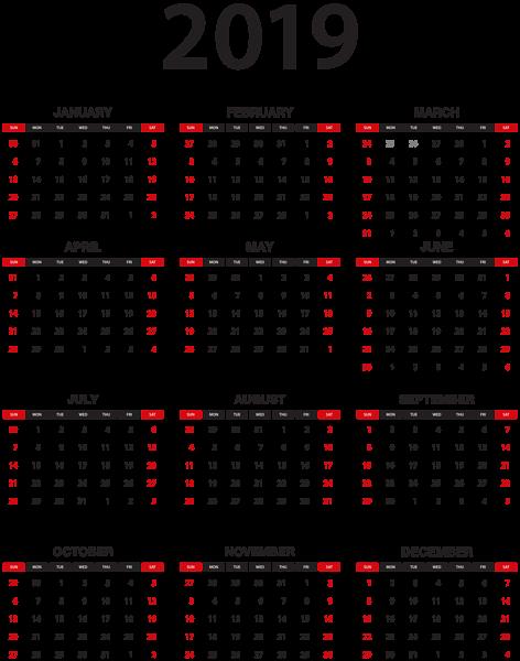 تقويم الميلادي ٢٠١٩ تقويم ٢٠١٩ 3dlat.com_12_18_0ff7