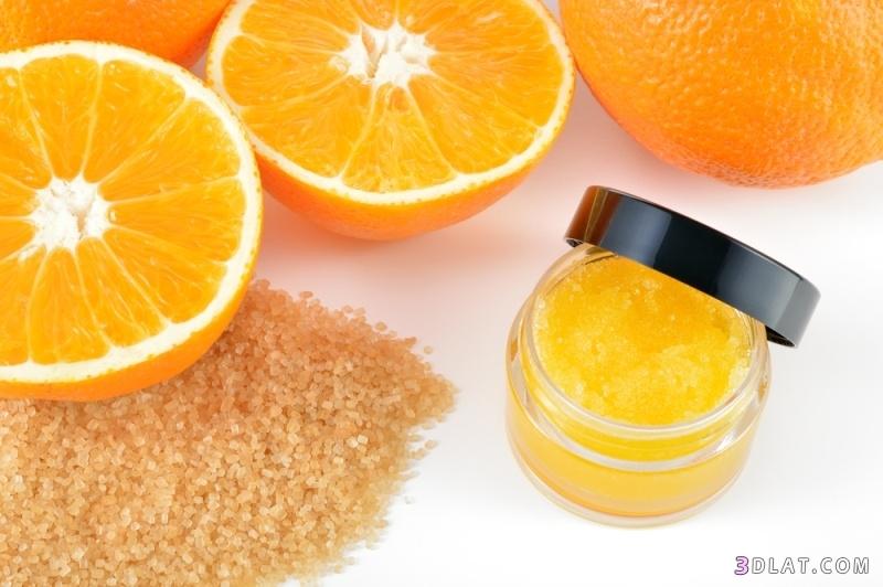 ماسك للوجه البرتقال لمحاربة التجاعيد وصفات 3dlat.com_12_18_5e7f