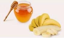 الموز, الوزن..., بالعسل, لزيادة, وصفة