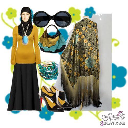 ازياء محجبات 2019 احدث صيحات حجاب 3dlat.com_1389877881