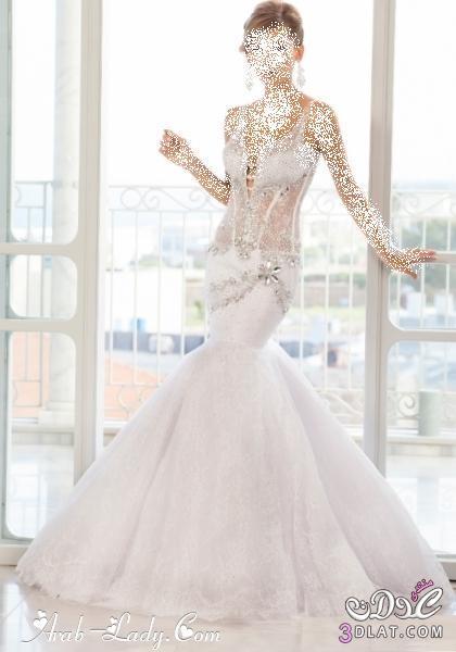 فساتين زفاف روعة فساتين زفاف مميزة اجمل فساتين للزفاف