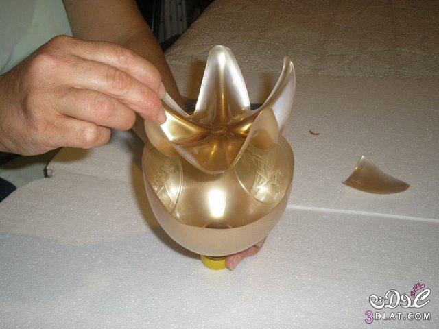 حامل مناديل تحفه فنيه من زجاجة المياه اللغازيه 3dlat.com_1389998990