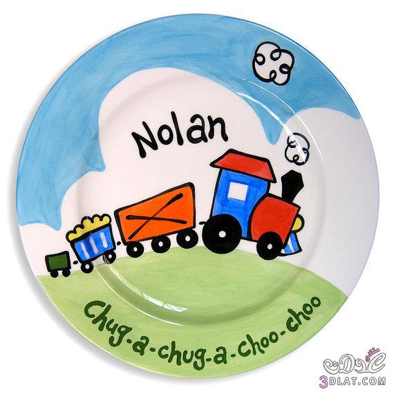 اطباق للاطفال روعه , صحون ملونه للاطفال , احلى تشكيله صحون واطباق ملونه للاطفال 3dlat.com_1390087830