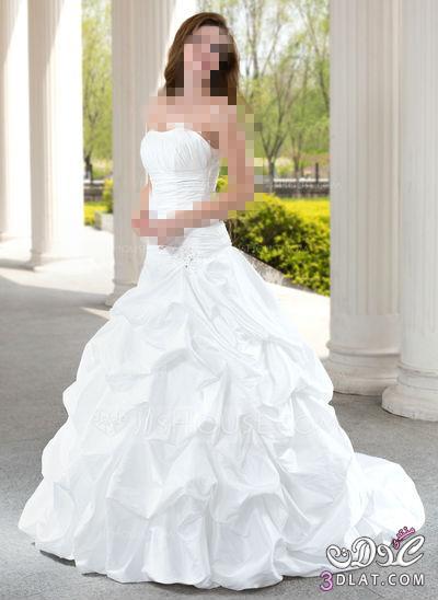 فستان فرحك على عرائس الجزائر  اكيد احلى ,تشكيلة فساتين زفاف موضة2019 اخر رقة وجمال