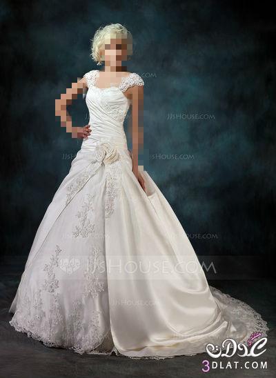 فستان فرحك على عرائس الجزائر  اكيد احلى ,تشكيلة فساتين زفاف موضة2014 اخر رقة وجمال