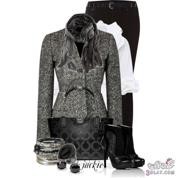 211350a93 اطقم نسائية جميلة من الملابس الشتوية 2020 اشيك ملابس شتاء 2020 - ام سلمة