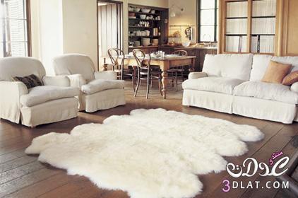 لمسات فنية لتزيين مساحة غرف المنزل بالسجاد 3dlat.com_1390431278