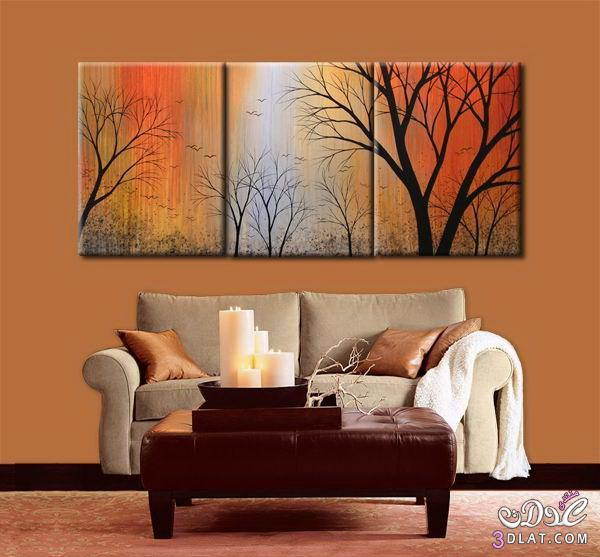نصائح لتعليق اللوحات والصور الحائط