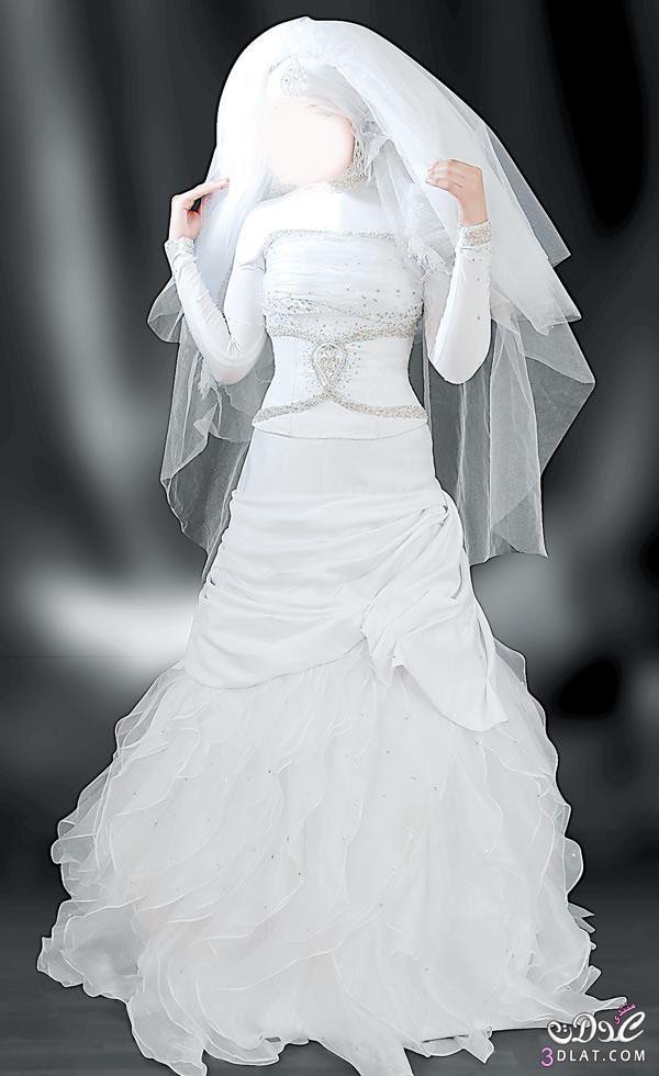 فساتين زفاف محجبات 2021, فساتين محجبات للفرح , فساتين فرح محجبات رائعه , فساتين