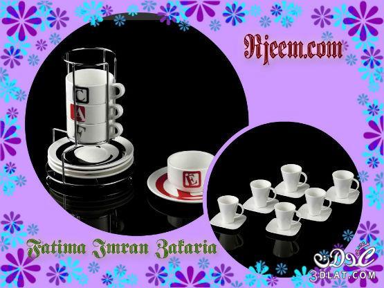 اطقم شاى وقهوة شيك 2014 تصميمات طقم قهوة رائع 3dlat.com_1390595096