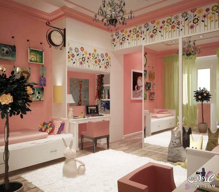 بنات الاحلام تصاميم ناعمة لغرف