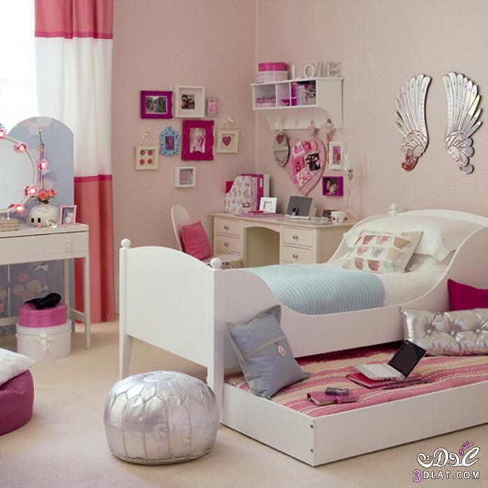 ديكورات غرف نوم بنات مميزة وجديدة Girls' Room Designs   توتى 1