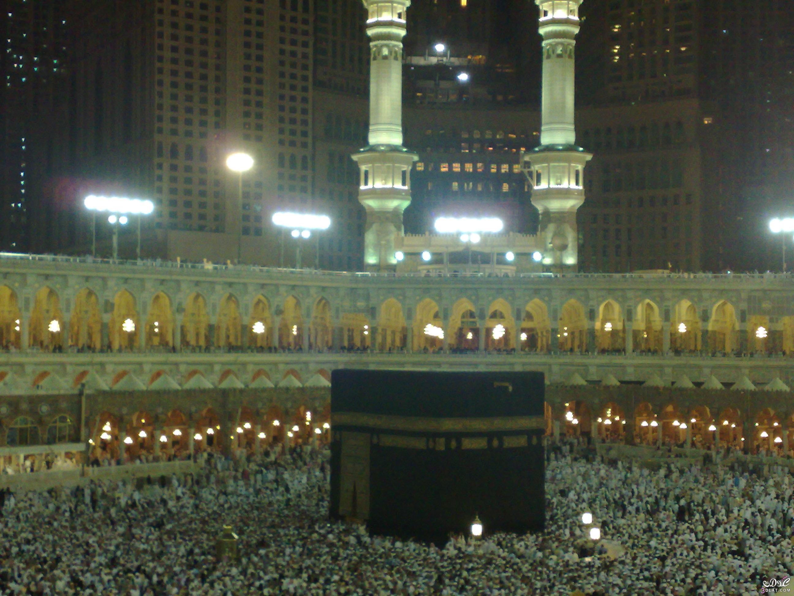 [بعدستي] صورللكعبة المشرفة بمكة المكرمة بالمسجد الحرام 3dlat.com_1390777171