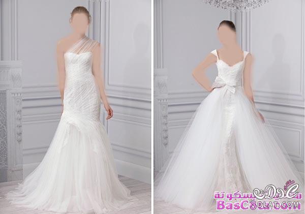 فساتين زفاف 2014 - فساتين اخر اناقة 2014 - فساتين رقيقة جدا