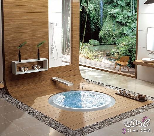 ديكورات حمامات 2014 تصاميم مبتكرة