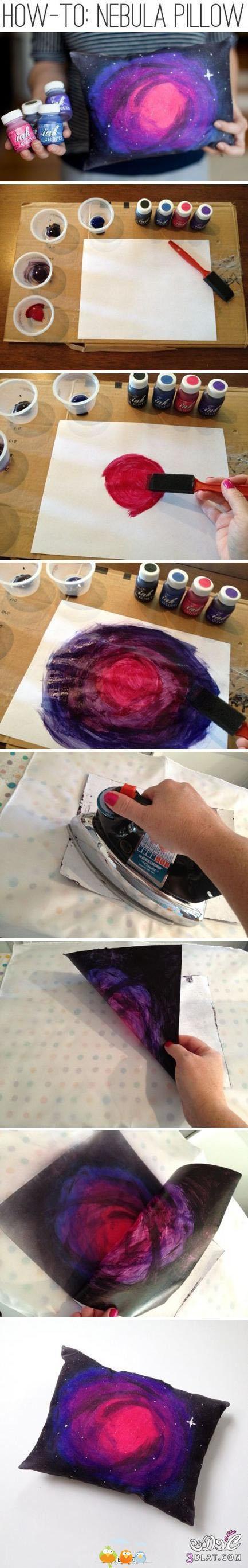 طريقة الطباعة بالالوان على القماش2014,فكرة سهلة ورخيصة لتغير الوان الملابس