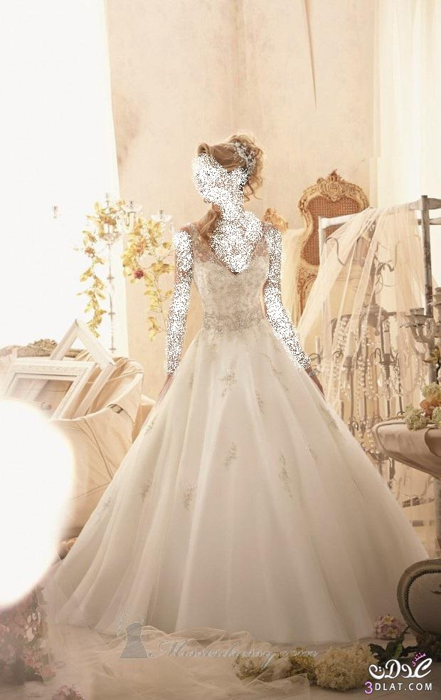 فساتين زفاف جميلة ، أجمل فساتين الزفاف الرقيقة ، أرق فساتين الزفاف 2014