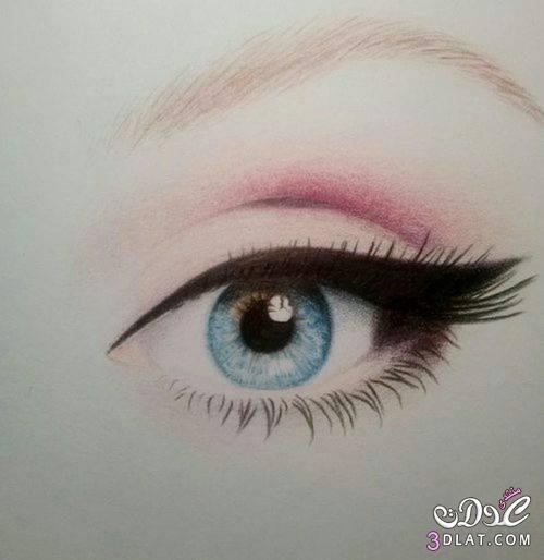 أحلى رسومات للعيون رسمات رائعة